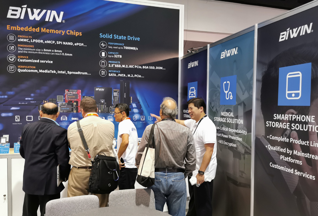 BIWIN FMS 2019 World's Top Flash Summit First Show Ended Successfully